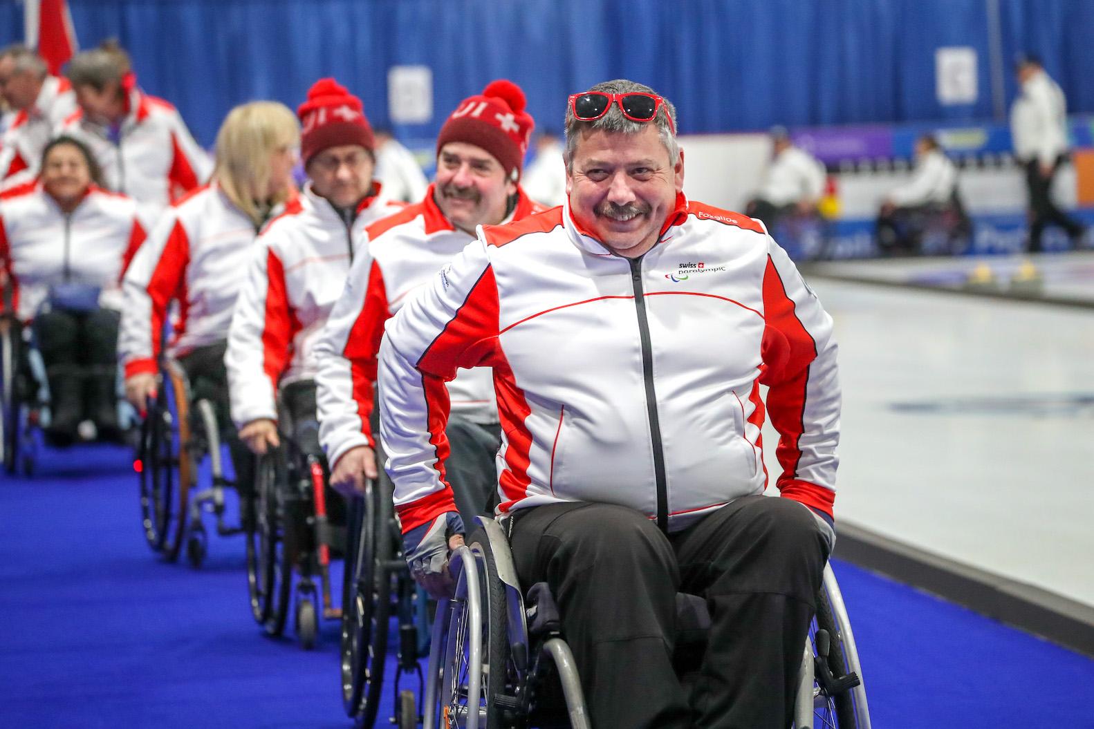 Rollstuhl-Curling WM in Wetzikon: 12 Teams kämpfen um WM-Titel