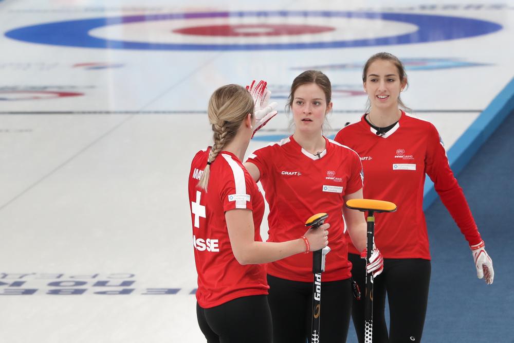 Junioren WM: Wichtige Siege für die Schweizer Teams - Playoffs immer noch möglich