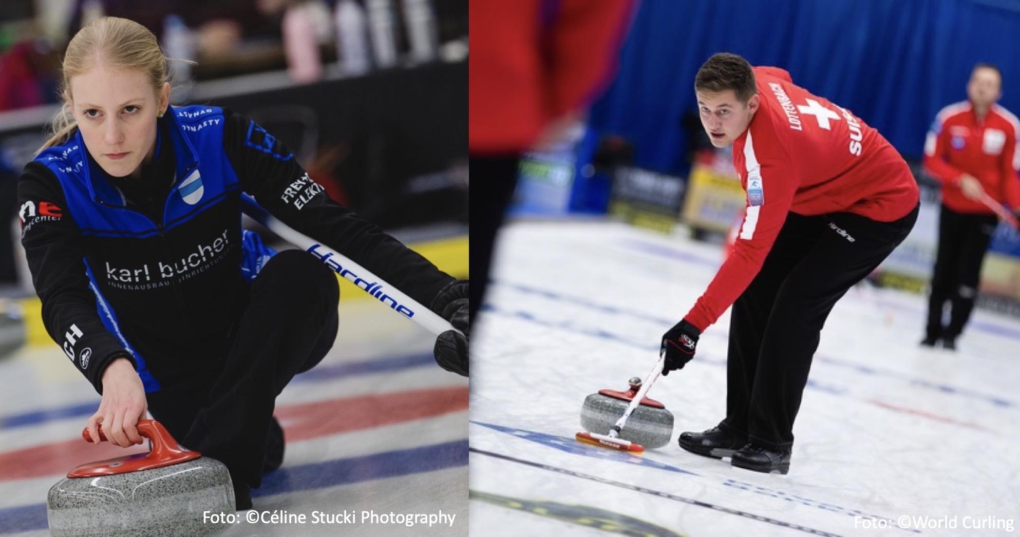 Corrie Hürlimann und Lucien Lottenbach ergänzen die Nationalteams an den Weltmeisterschaften