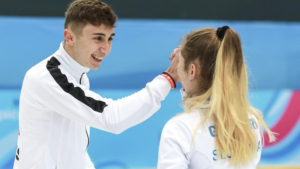 JOJ 2020 Double mixte: Winz dans le top 12 - Da Ros, Schwaller et Iseli éliminés