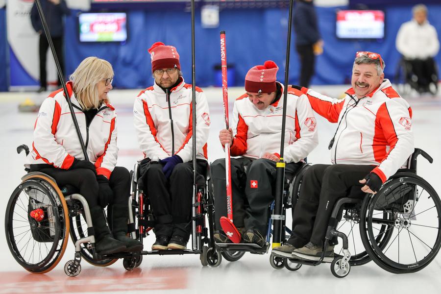 CM de curling en fauteuil roulant: La Russie en or devant le Canada et la Suède - La Suisse est reléguée en ligue B