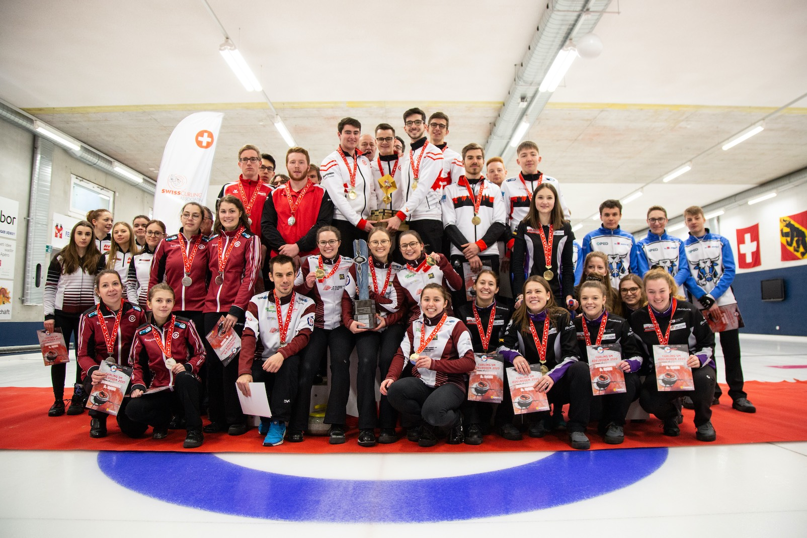 Bienne – Saint-Gall (juniors filles) et Lausanne Olympique 1 (juniors) champions suisses 2020!