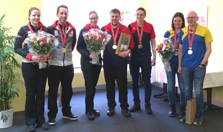Schweizermeisterschaft Mixed Doubles Breitensport in Luzern: Engelberg-Titlis gewinnt vor zwei Mal Baden Regio