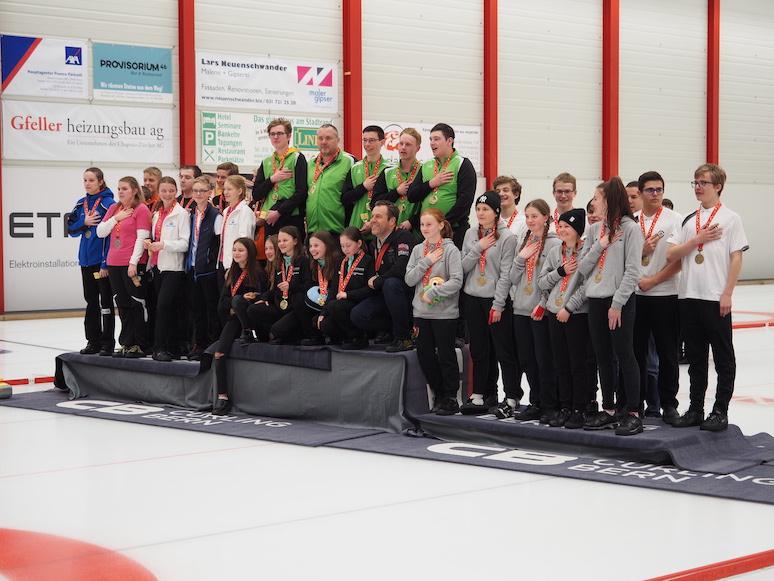 C-Schweizermeisterschaft in Bern: Limmattal-Wetzikon und Küssnacht am Rigi sind Schweizermeister 2020.