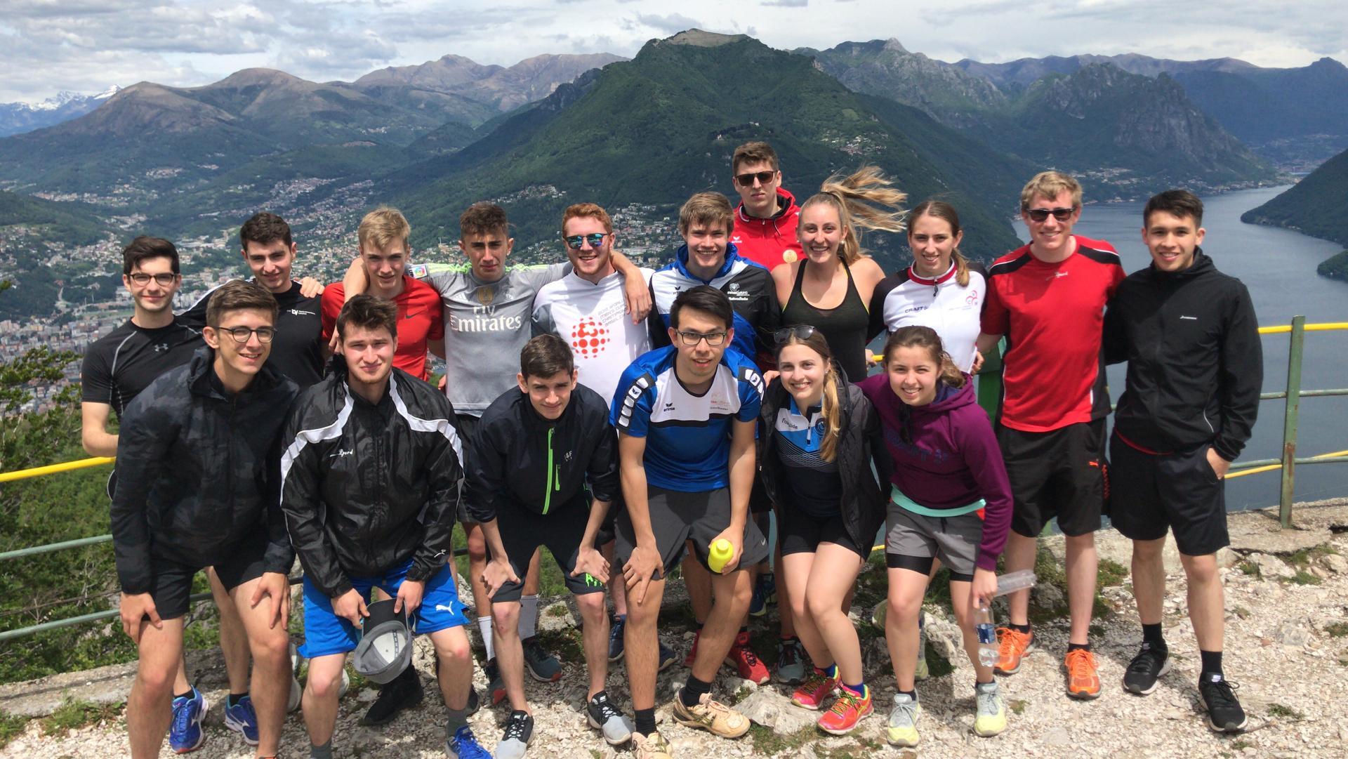 Sommertraining unseres National- und Regionalkader in Tenero und Magglingen