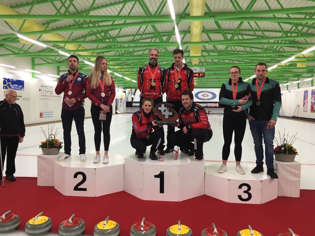Mixed Doubles Elite SM 2020 in Aarau - Perret/Rios holen den zweiten Mixed Doubles-Titel