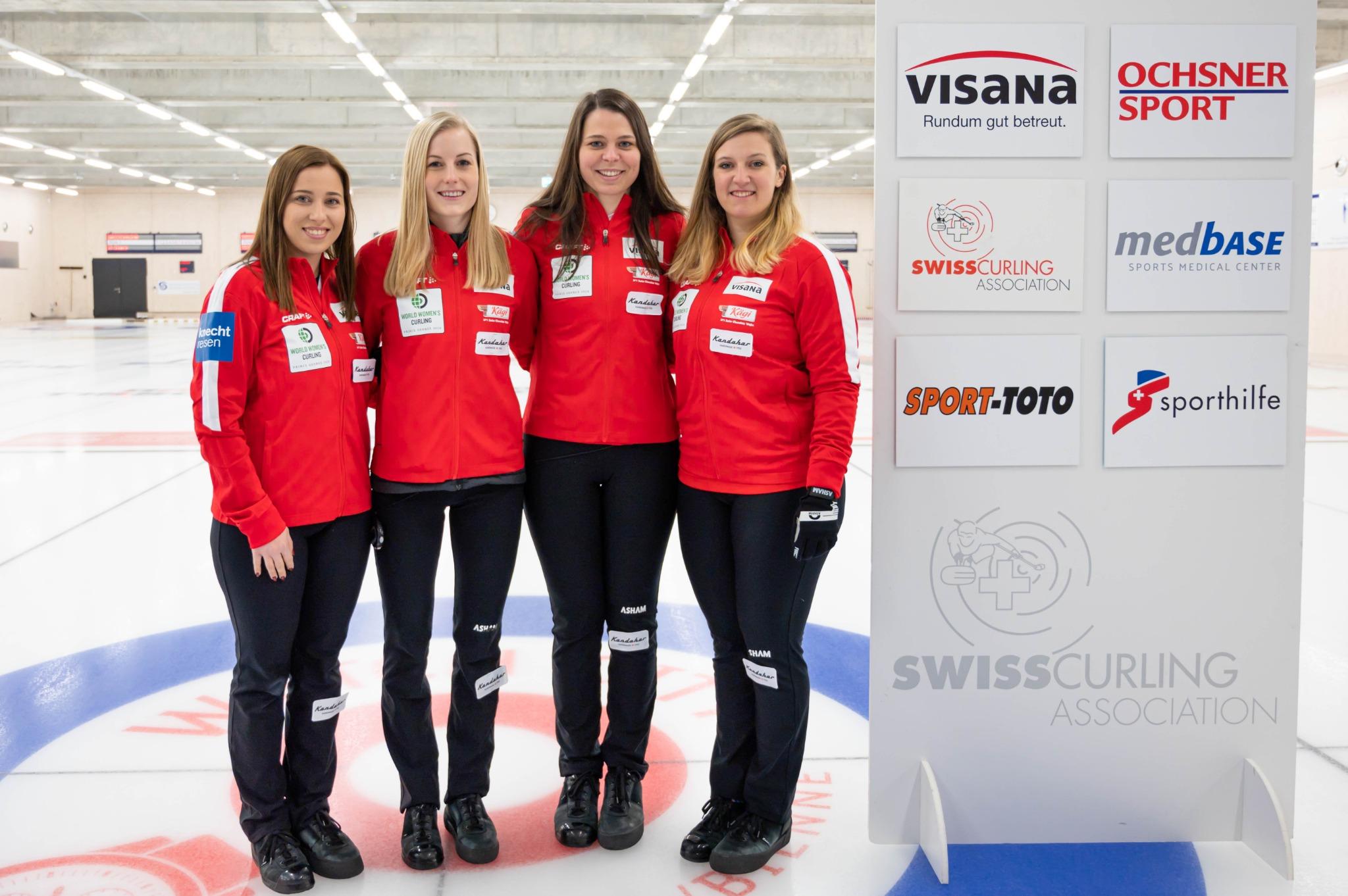 Championnat du monde de curling au Canada: une première pour le Team Stern