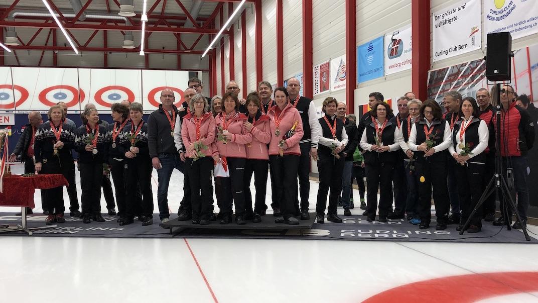 SM Seniorinnen und Senioren - Schweizermeistertitel geht an Bern Capitals und Luzern City